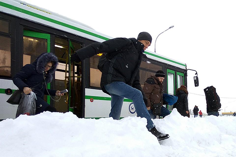 Метро встолице перевели наусиленный режим работы из-за снегопада