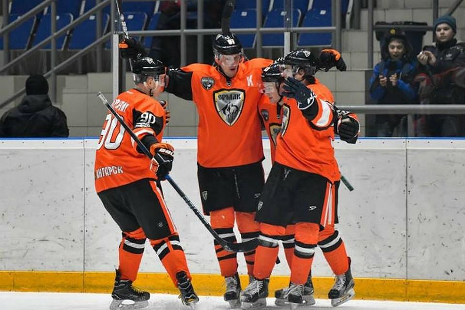 «Южный Урал» уступил ангарскому «Ермаку» впятом матче серии плей-офф