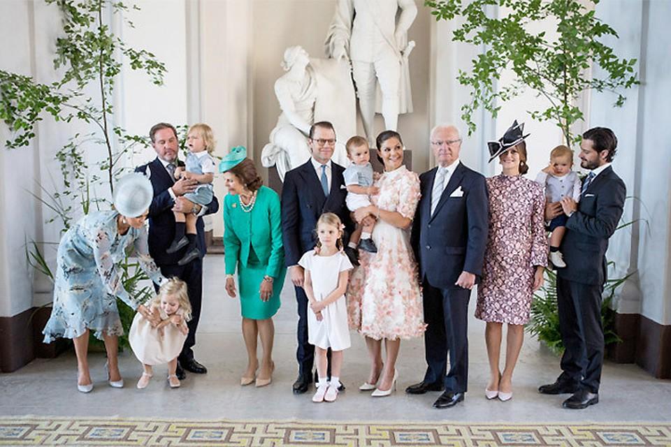 Шведская принцесса стала многодетной мамой