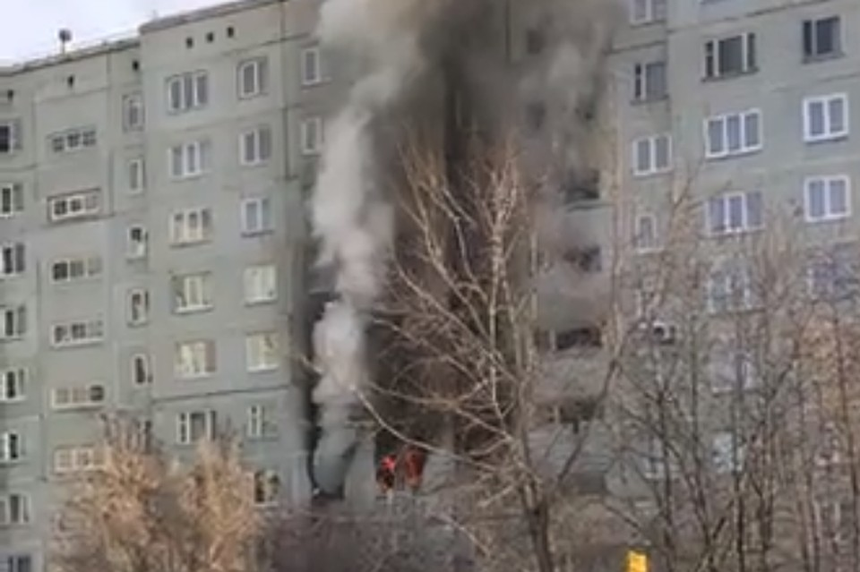 После взрыва газа вОмске в клинику доставили 2-х пострадавших