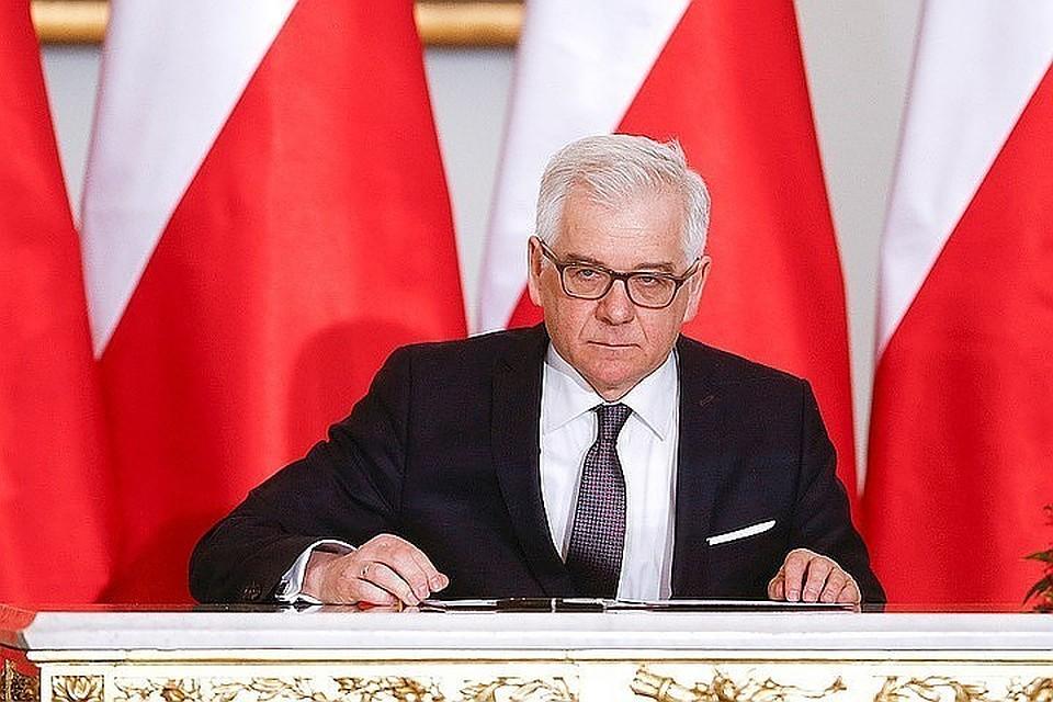 Политический разговор сРоссией является нужным — руководитель МИД Польши