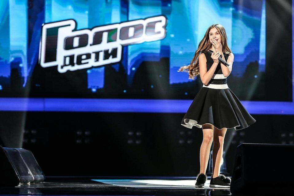 13-летняя Настя Гладилина изБрянска прошла вфинал «Голос. Дети»