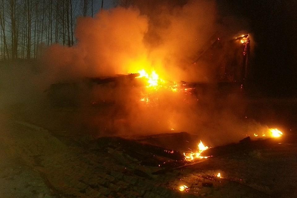 Вовласти пламени: впожаре вНикольском районе погибли женщины