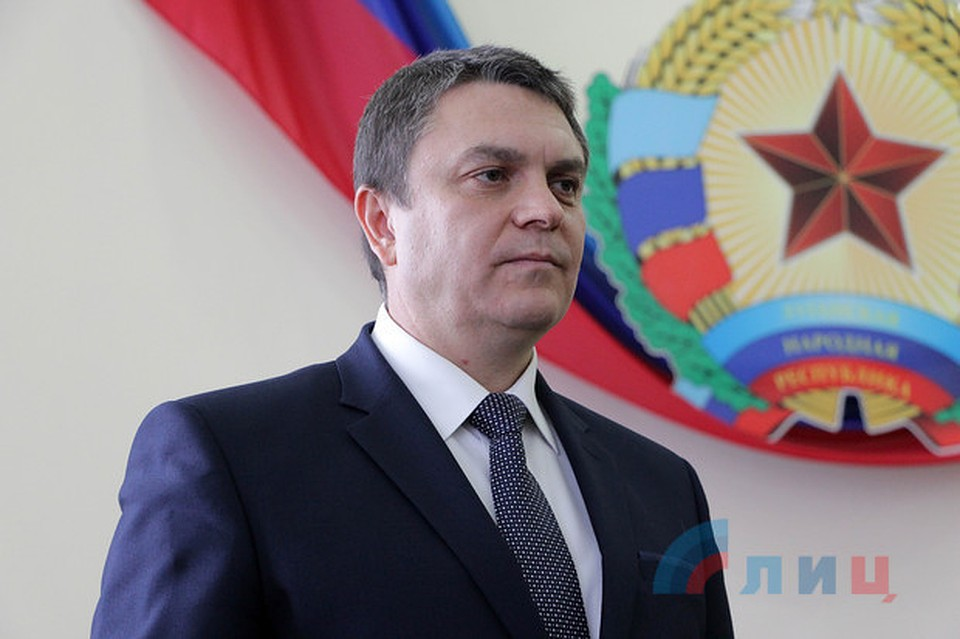Хуг впервый раз встретился сглавой ЛНР вЛуганске