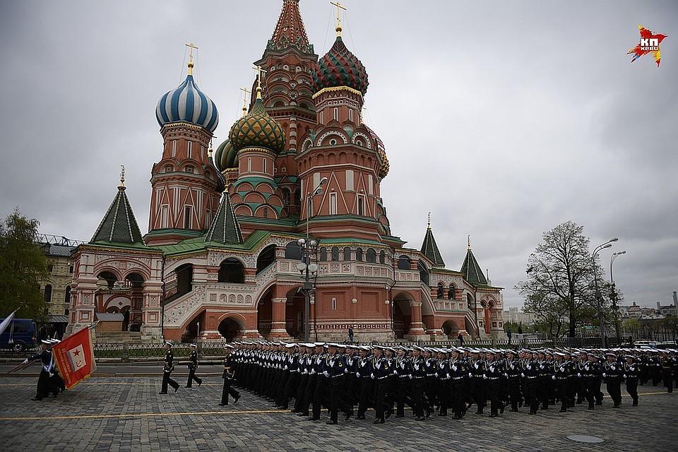 Репетицию парада Великой Победы проведут наДворцовой площади шесть раз