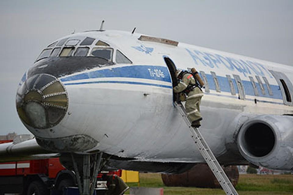 Стабильный  рейс Омск— Москва схвачен  из-за повреждения самолета