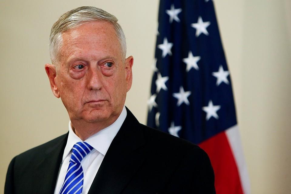 Мэттис: Трамп пока непринял решение обударе поСирии