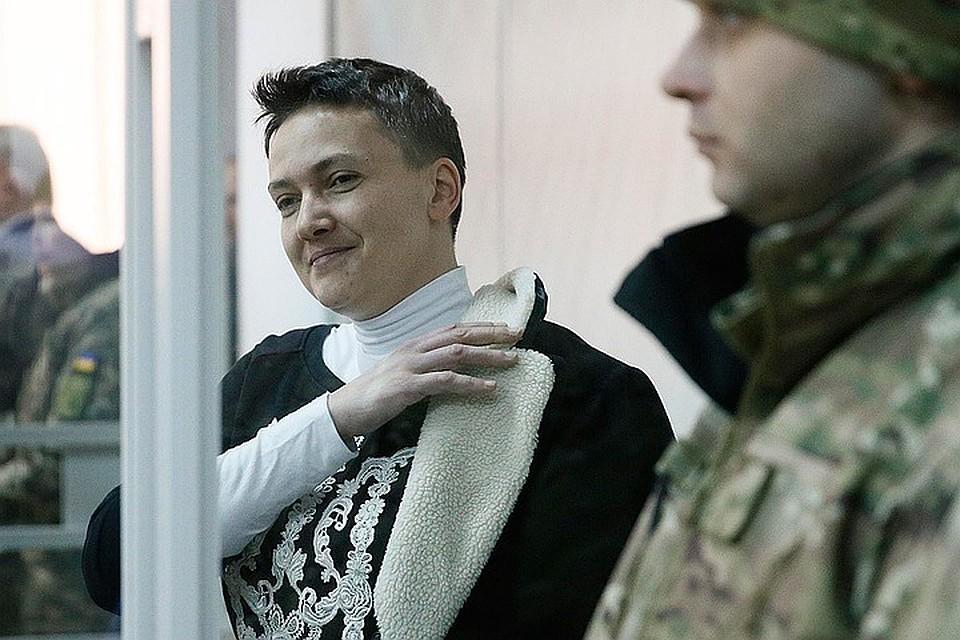 Надежду Савченко завтра доставят в поликлинику