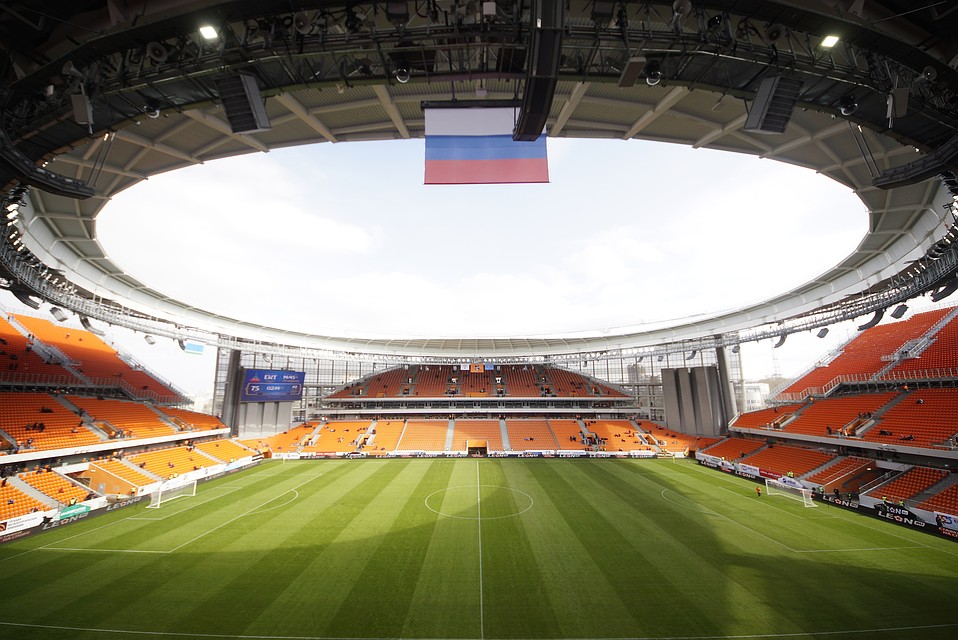 Состоялось открытие реконструированного кЧМ-2018 стадиона «Екатеринбург-Арена»