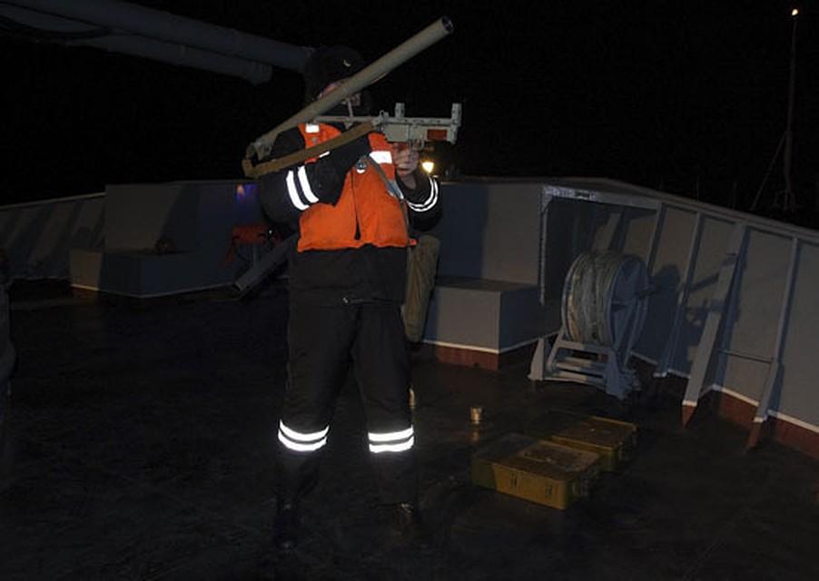Военнослужащие ТОФ провели учения с употреблением ручных гранатомётов