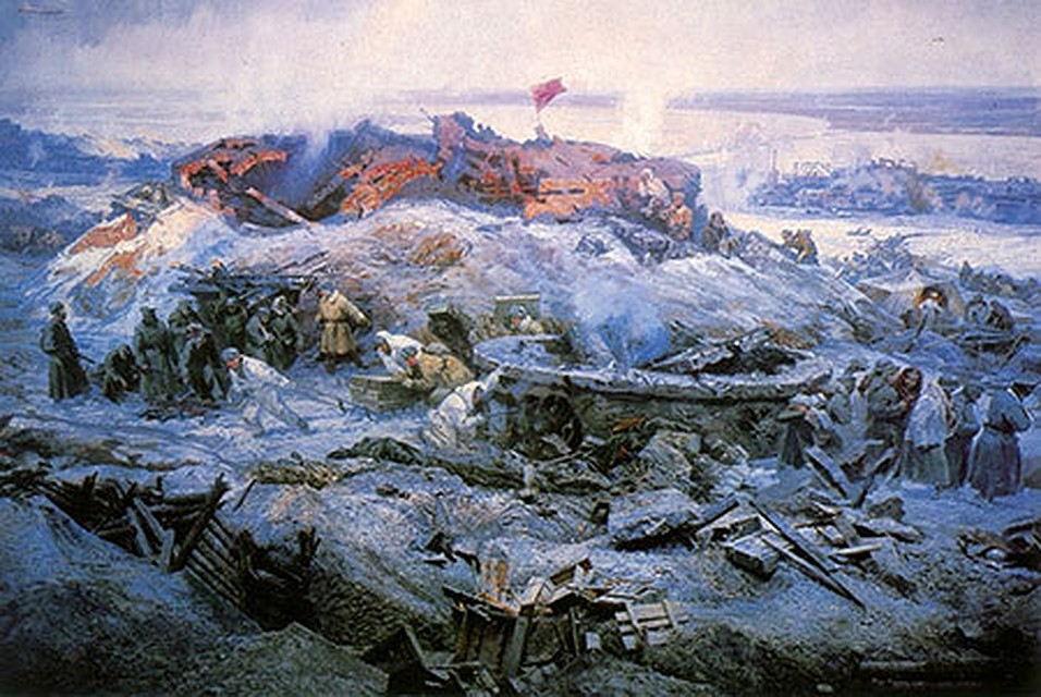 ВЧелябинске покажут 34-метровую панораму «Героическая защита Сталинграда»