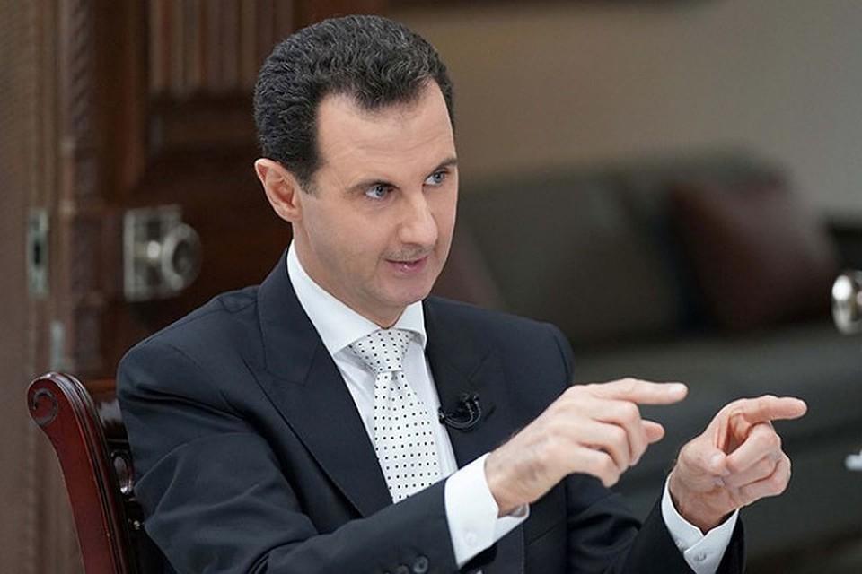 Мне безралично мнение Трампа— Башар Асад