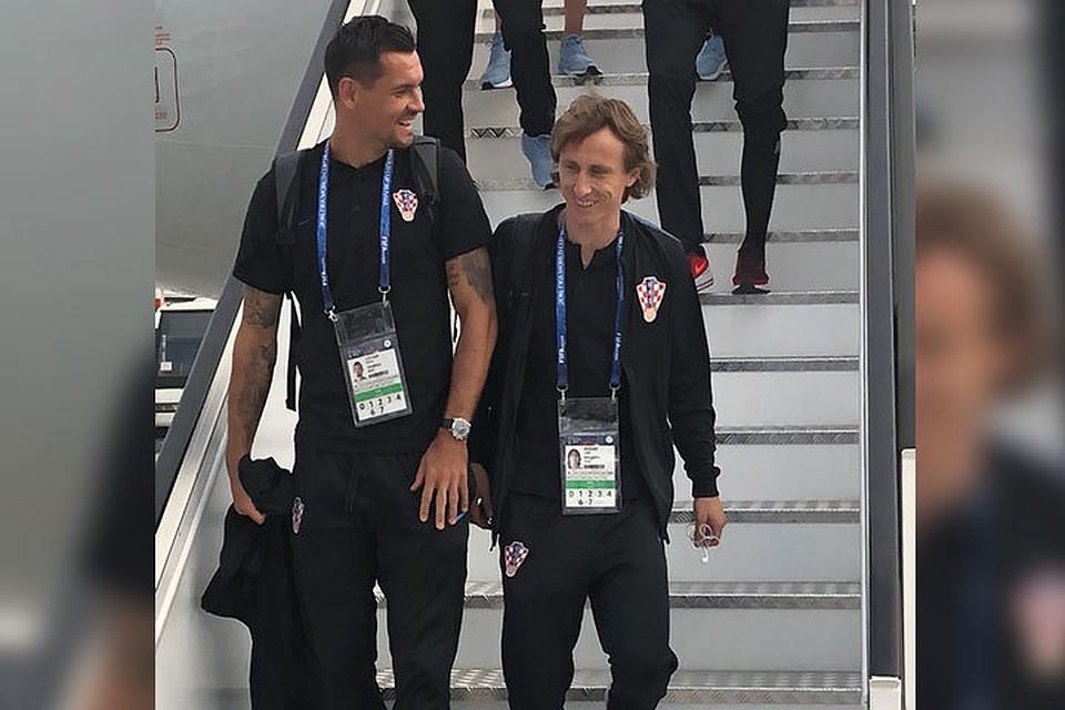 Марио Манджукич всоставе сборной Хорватии прилетел вНижний Новгород