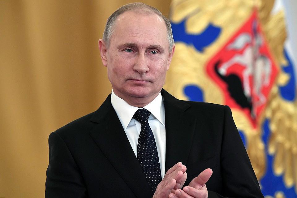 Президент подчеркнул выдающихся граждан России