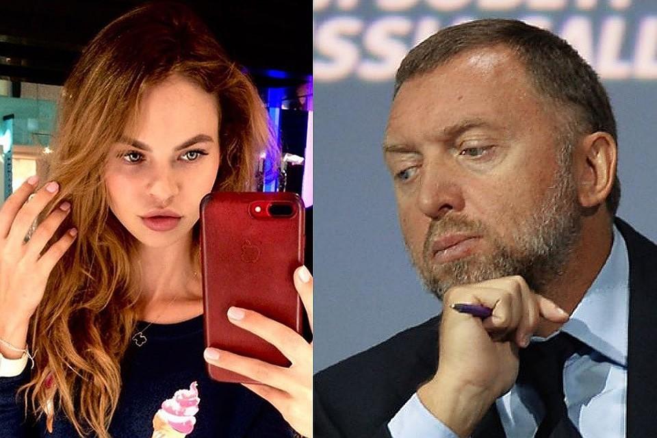 Настя Рыбка и Олег Дерипаска