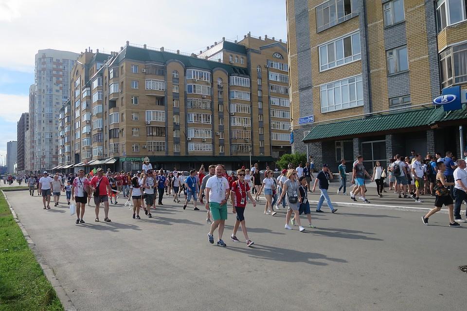 Вовремя ЧМ-2018 вКазани туристы потратили 11,2 млрд руб.