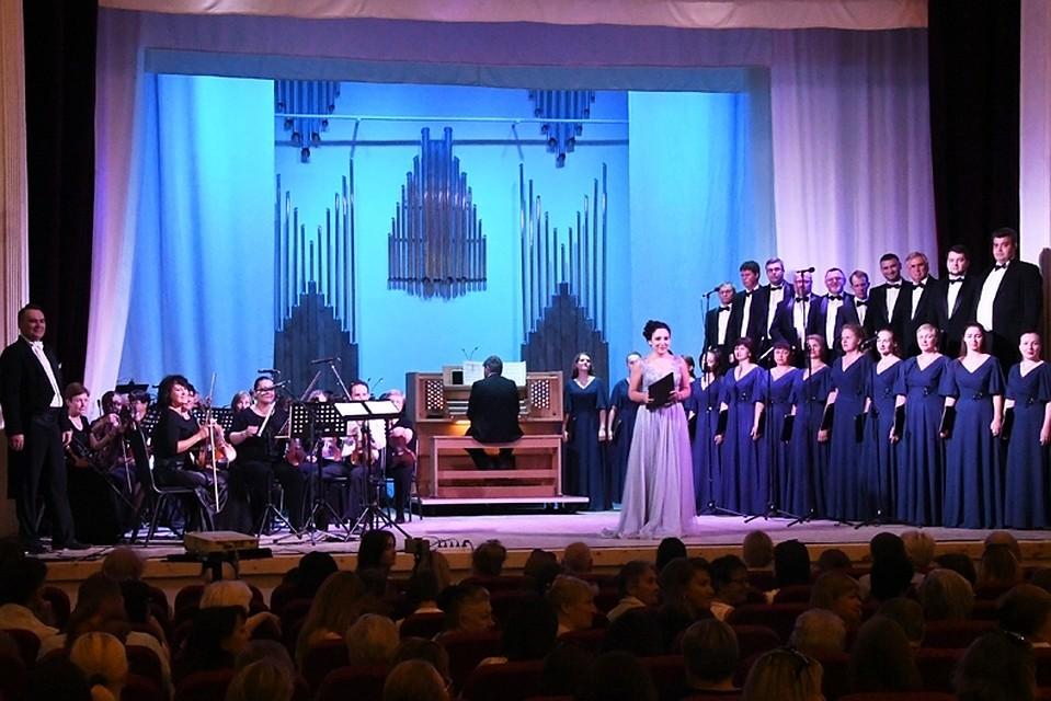 В Липецке впервые зазвучал орган