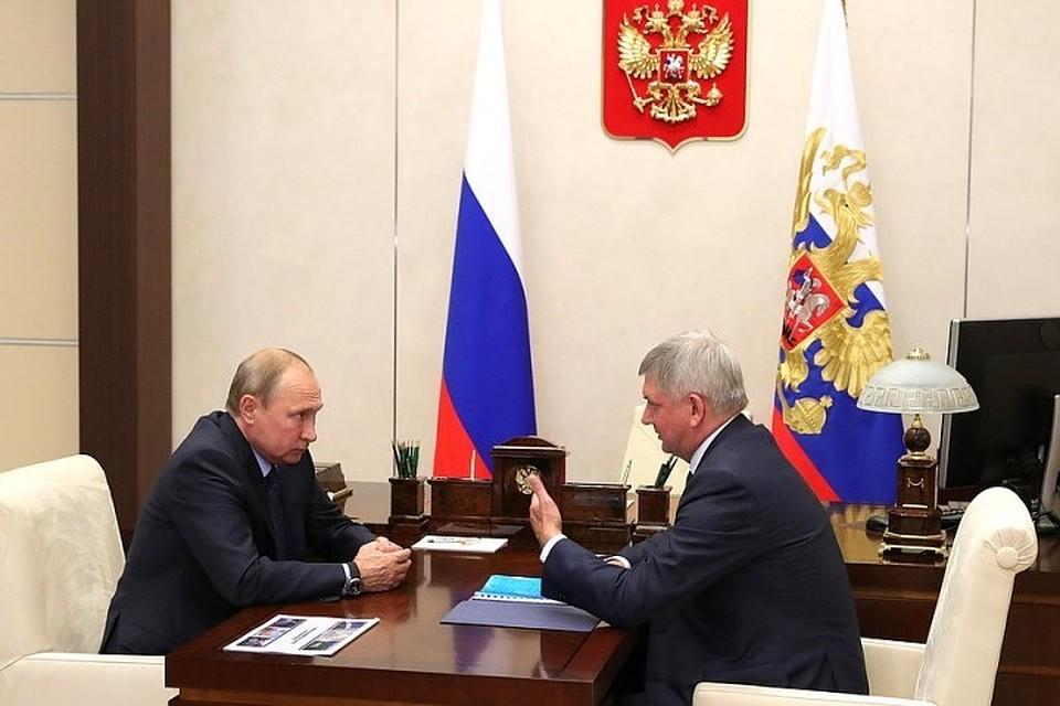 Президент Российской Федерации поддержал идею создания ОЭЗ вВоронежской области