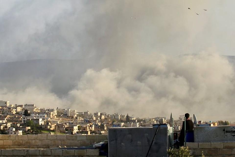 МОРФ: Боевики привезли вИдлиб отравляющие вещества