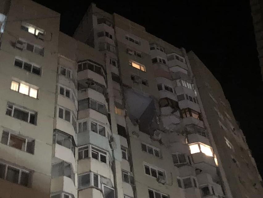 Встолице прогремел мощнейший взрыв вжилом доме