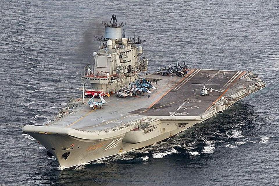 Вфирме затопление плавдока «Адмирала Кузнецова» пояснили перебоями сэлектричеством
