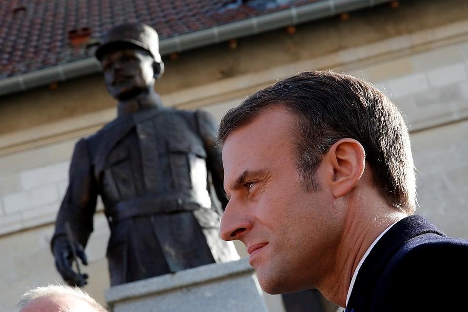 Экс-президент Франции почтил память маршала, подписавшего капитуляцию Франции