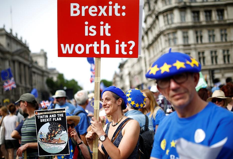 После Brexit британцы будут платить за въезд в ЕС