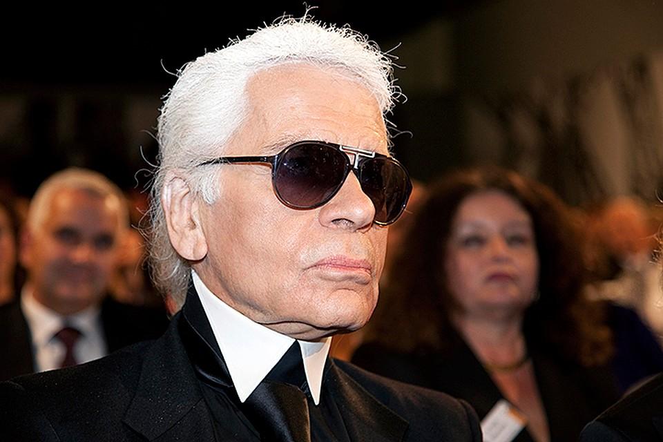 Скончался  легендарный французский модельер Карл Лагерфельд