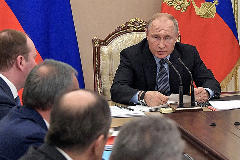 Путин объявил о новейшей стратегии ВТС нафоне санкций ишантажа