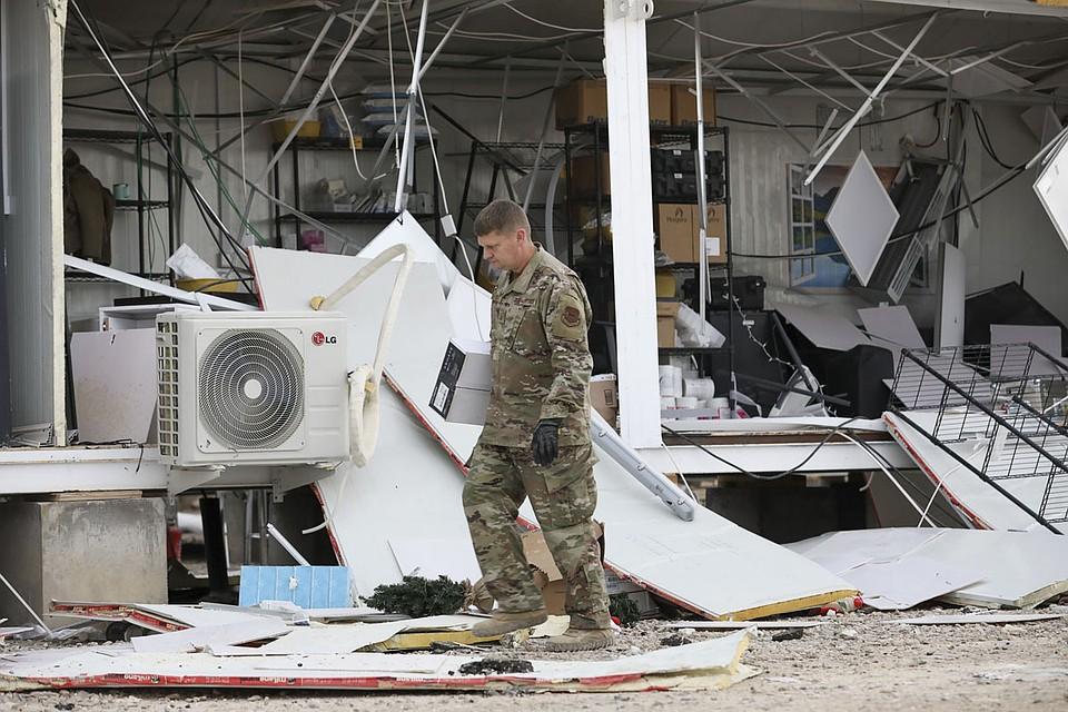 На самом деле удар по американским объектам в Ираке привел к ранениям свыше ста бойцов