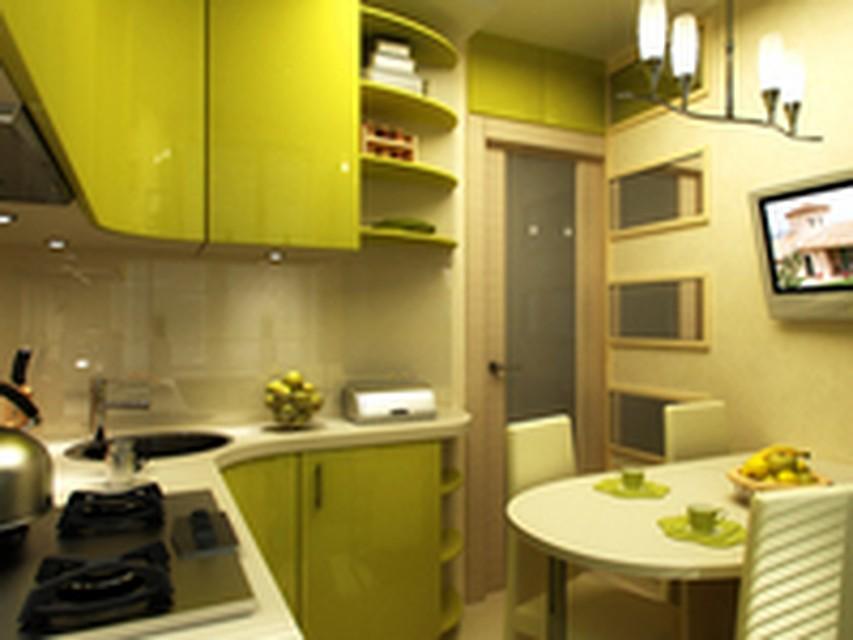 Маленькая кухня для большой семьи Дизайн Студии Новостей