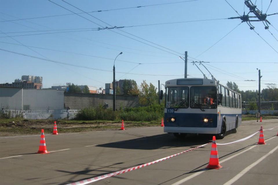 Конкурс водителей троллейбуса ярославль