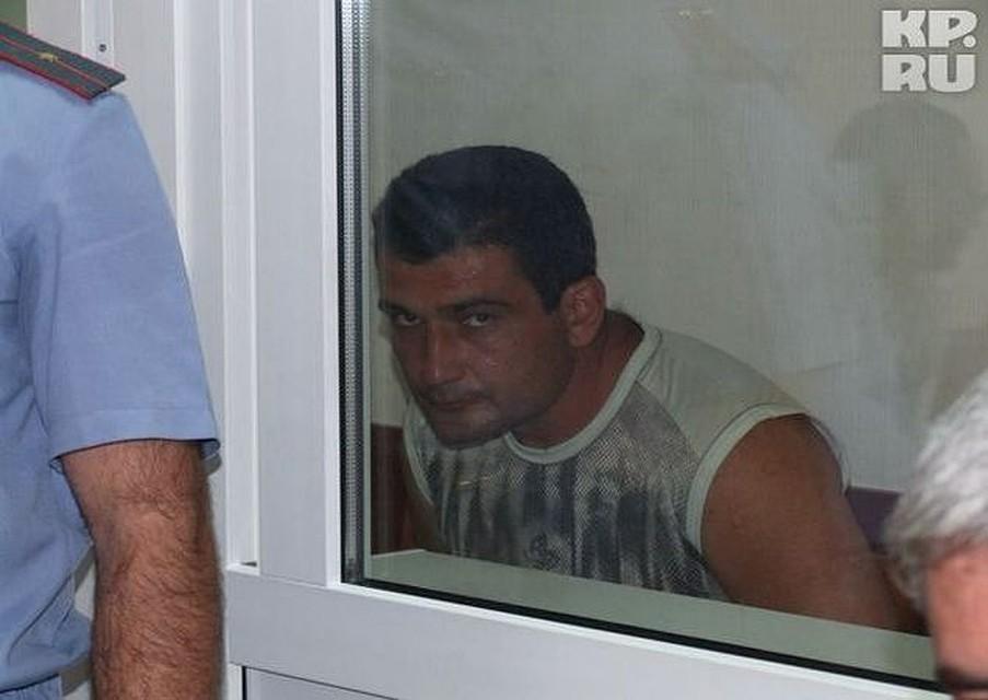 Владимир Амбарцумов был взят под стражу сразу же, как анализ ДНК подтвердил его причастность к происшествию.