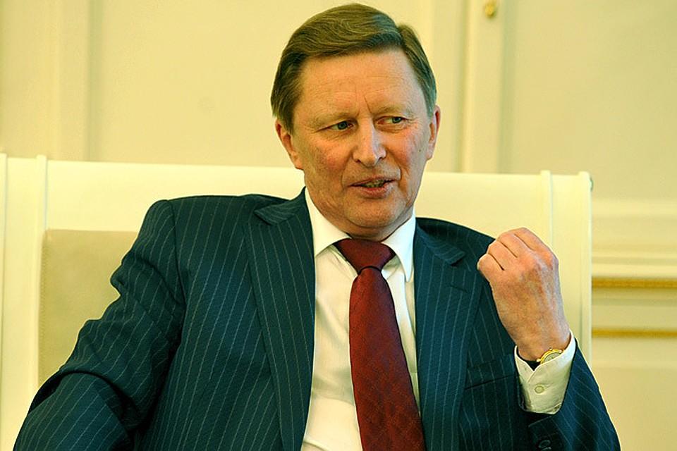 Руководитель администрации Президента России Сергей Иванов.