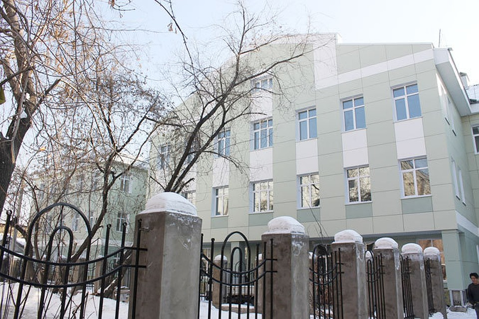 Новое здание лицея по ул. Тимирязева, 14 после реконструкции.