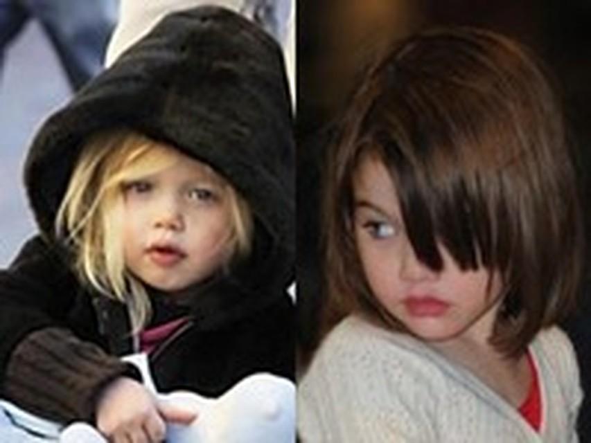 Дочка Анджелины Джоли – маленькая киноактриса изоражения