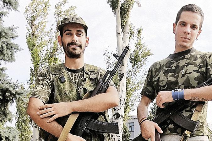 Анхель (слева) и Раф.