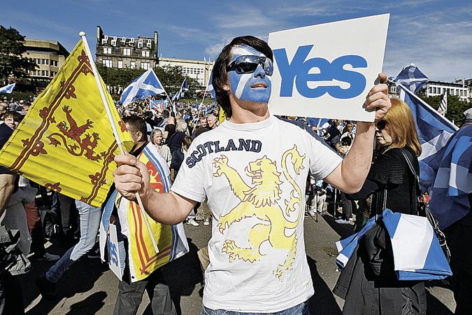В Шотландии прошло голосование за независимость