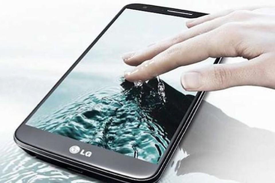 Флагман LG - G3. Фото компании-производителя.