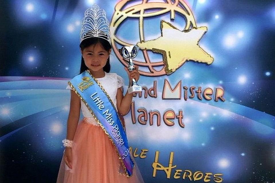 Девочка победившая в конкурсе