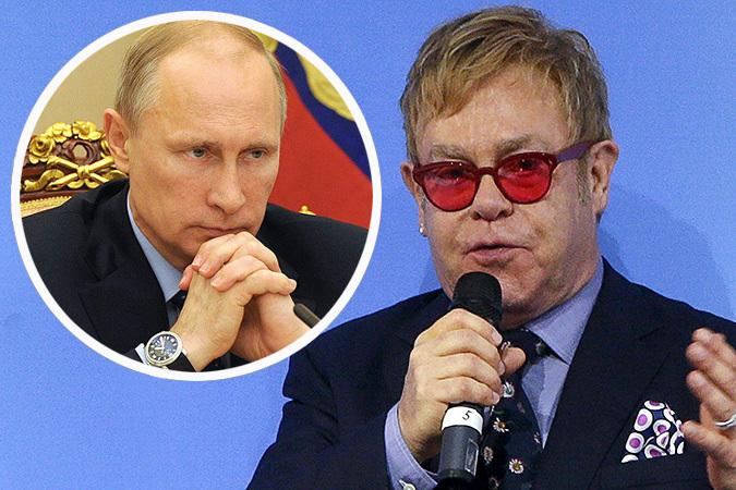 Элтон Джон после встречи с президентом Украины надеется на встречу с президентом России