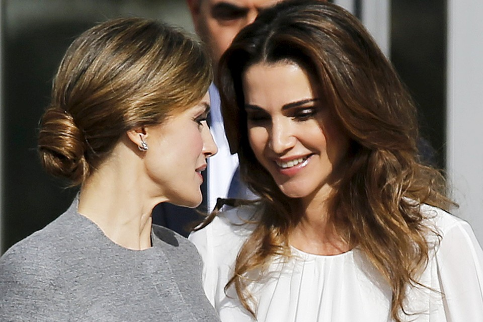 Рания и Летиция считаются самыми красивыми королевами планеты.