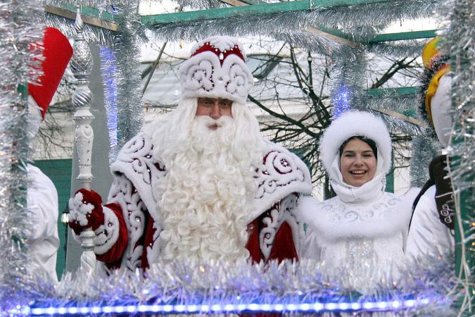 Дед мороз и снегурочка на дом коломна