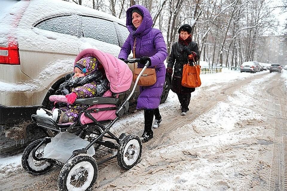 Во вторник на Москву выпадет половина месячной нормы снега