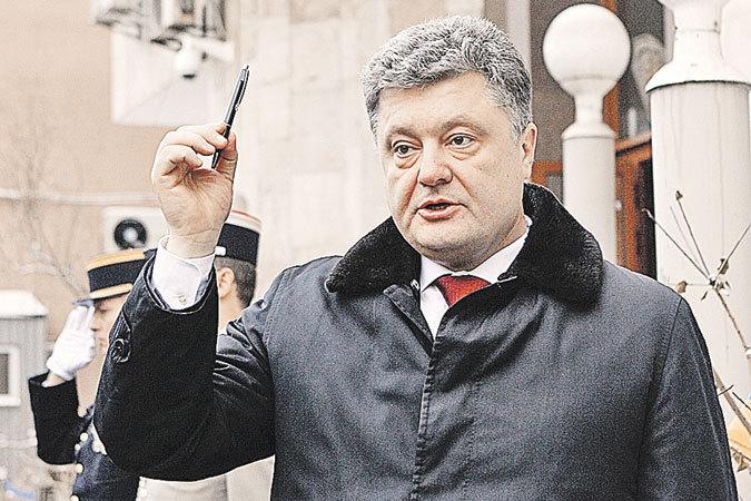 Порошенко собрался вернуть Крым Украине в 2016 году