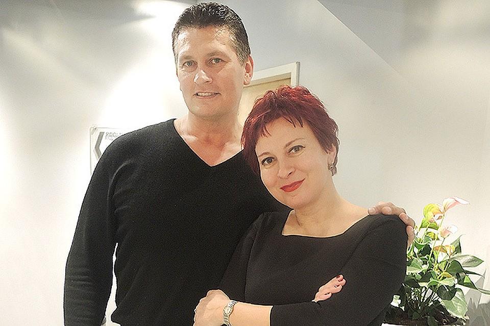 Иван Юрчевич с нашим корреспондентом Дарьей Асламовой