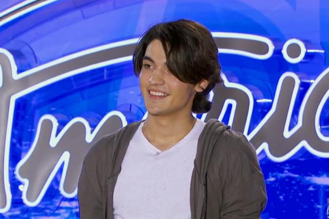 Андрей дебютировал на шоу American Idol под номером 39790 и псевдонимом Andrew N.