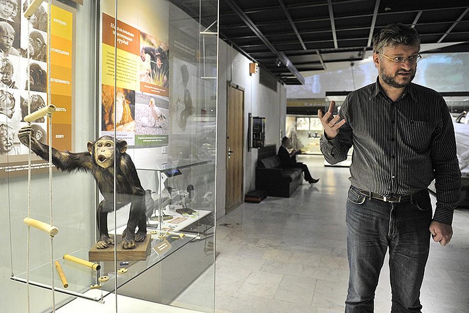 Заведующий научным отделом Дарвинского музея Александр РУБЦОВ.