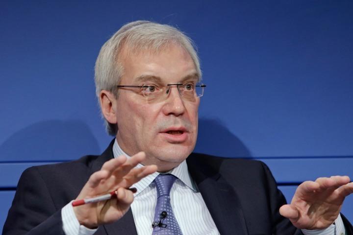 Постоянный представитель России при НАТО Александр Грушко