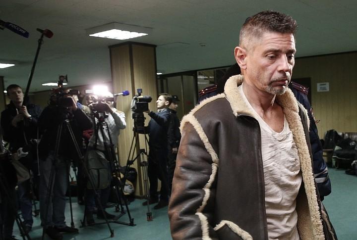 Актер Валерий Николаев пойман, причем уже второй раз. Фото: Александр Щербак/ТАСС